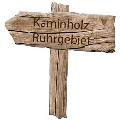 Kaminholz Wegweiser